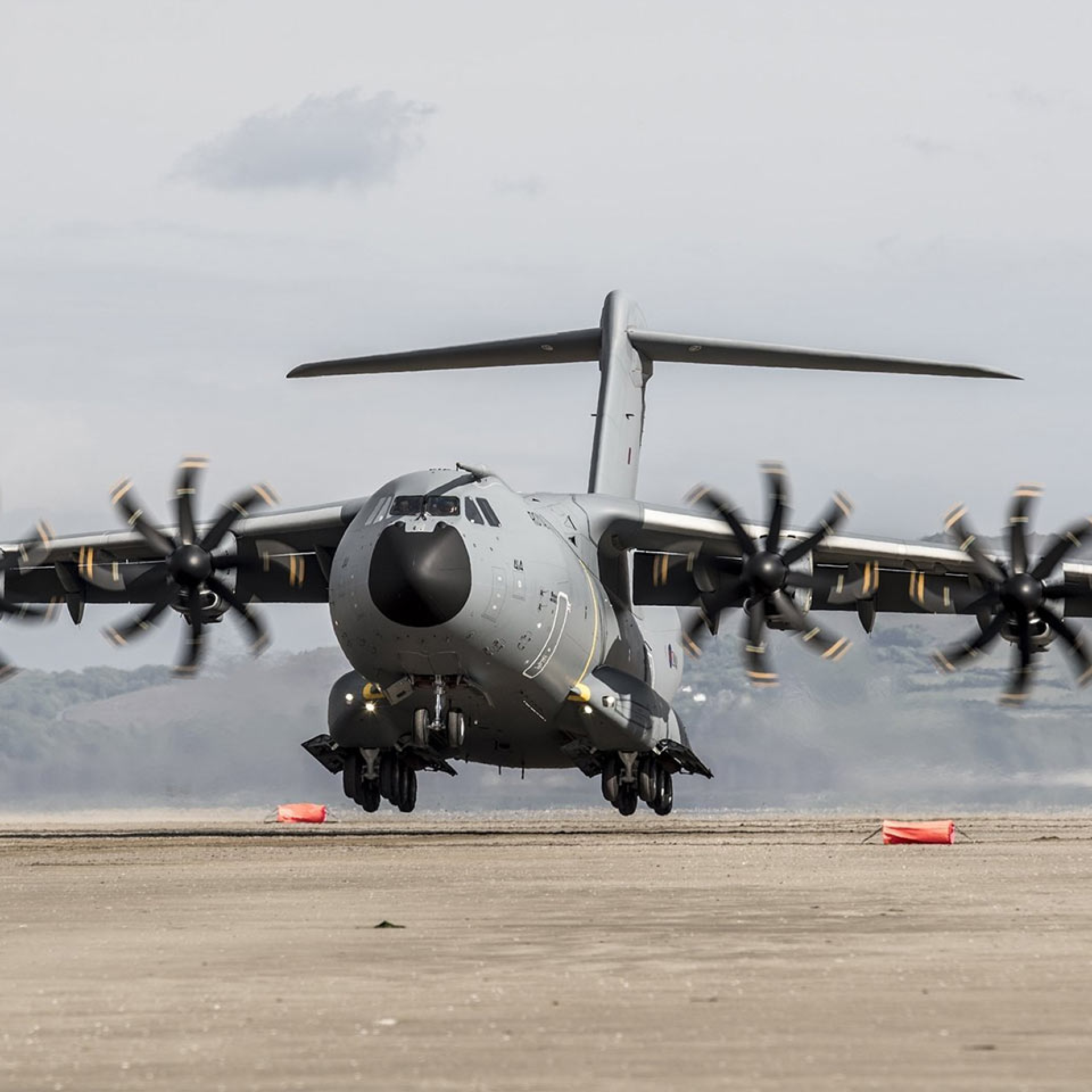 Engineering Support for Flight Tests of the A400M