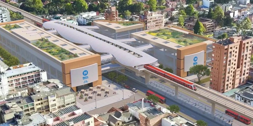 Ayesa is awarded a 65-million-dollar supervision services contract for Bogotá's first metro system