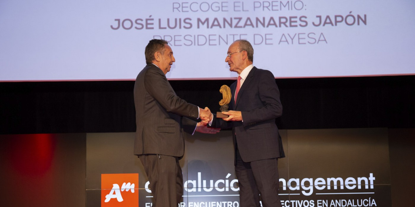 Ayesa receives the Business Development Award 2018 from the Andalusia Management Forum