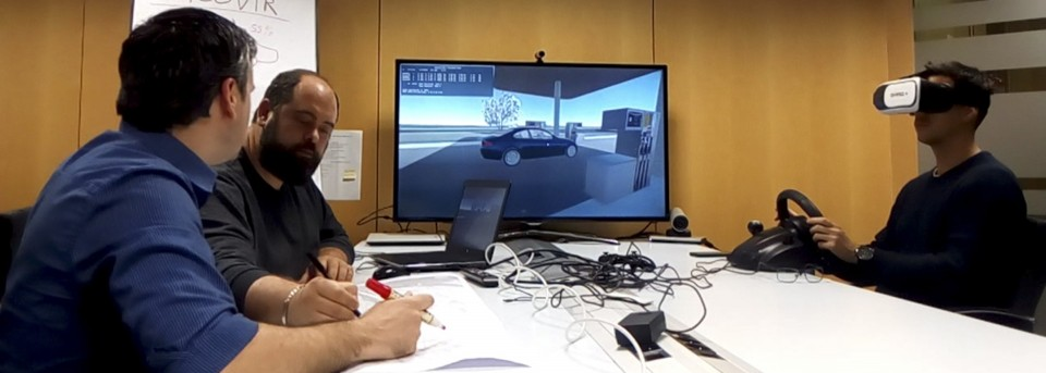 A road simulator: or, how to use virtual reality in BIM