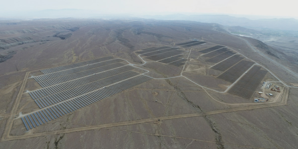Intipampa photovoltaic plant