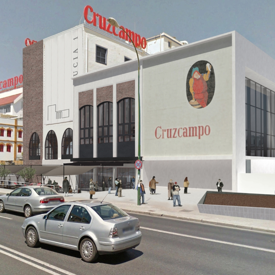 The Mosaico and Palomar Project for Cruzcampo