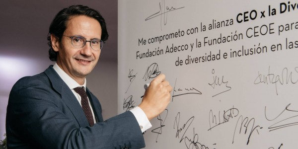 José Luis Manzanares, CEO of Ayesa, joins the Alliance #CEOforDiversity