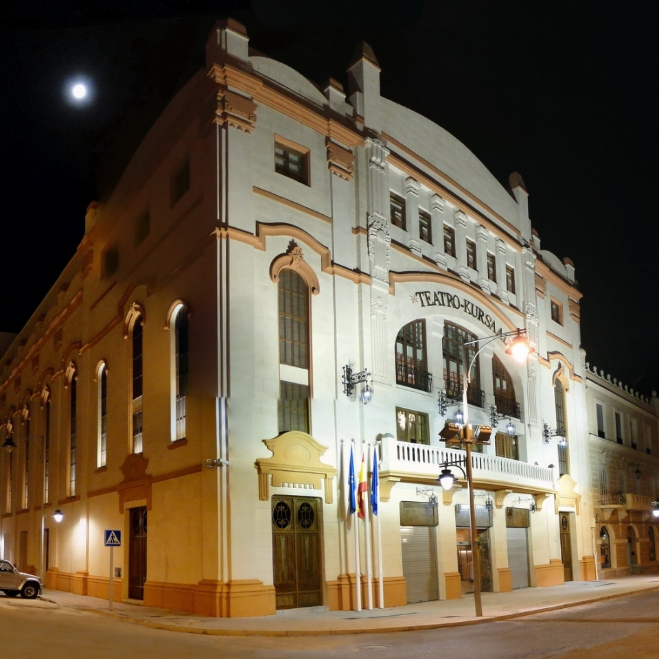 The Kursaal Theatre in Melilla