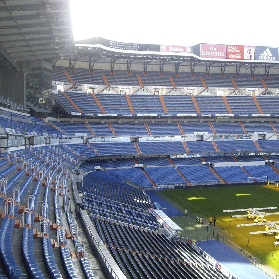 Project to replace the video scoreboards at the Santiago Bernabéu Stadium